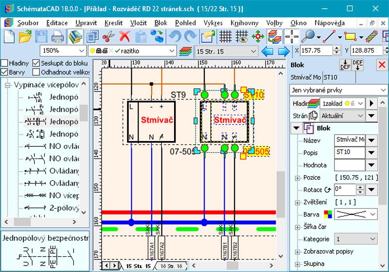 Snadna Tvorba Vykresu V Softwaru Schematacad Elektroprumysl Cz